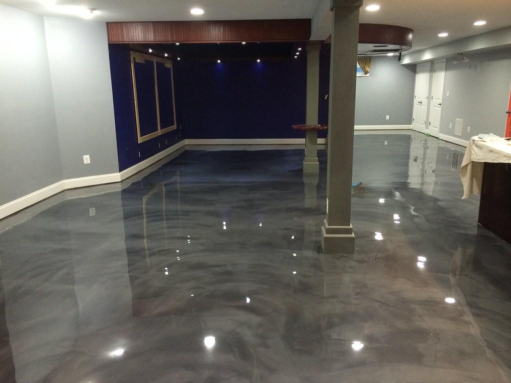 designer epoxy basement floor in manassas va reflector flickr rh flickr com epoxy floor basement diy epoxy floor basement diy