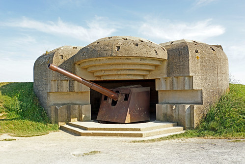 France-000764 - Longues-sur-Mer Battery - Gun 3 | by archer10 (Dennis) 160M Views