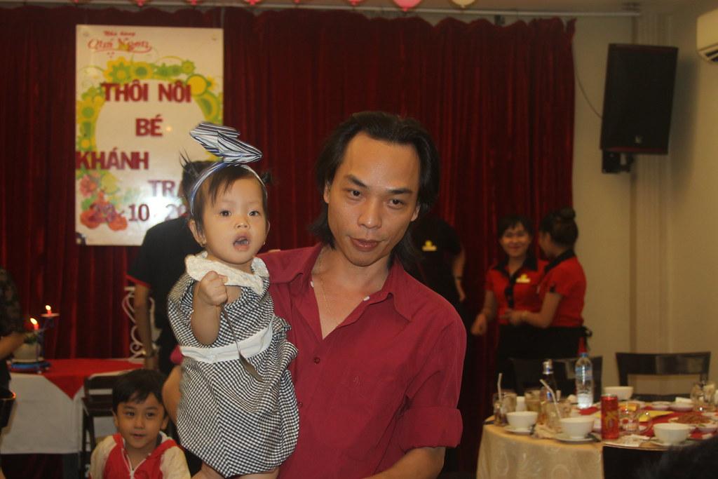 Tiệc thôi nôi bé Khánh Trang ngày 29/11/2016