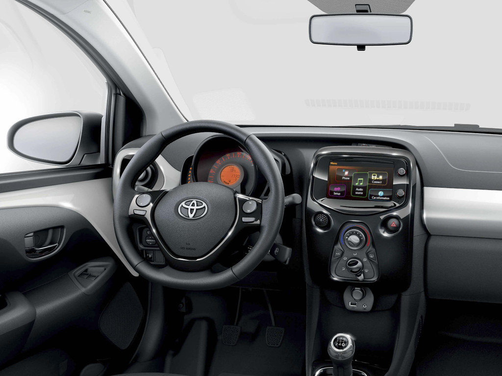 Toyota AYGO 2014 Interior | Toyota Motor Europe | Flickr