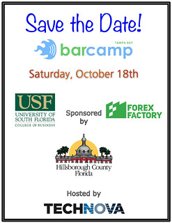 BarCamp Save The Date | by BarCampTampaBay