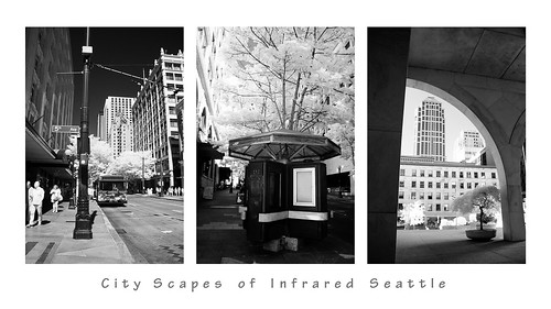 City Scapes of Infrared Seattle (2) | by Diana Michaels