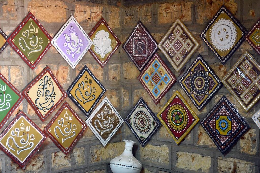 India Gujarat Bhujodi Hiralaxmi Memorial Craft Park Flickr