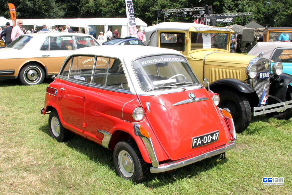 1957 1959 Bmw 600 The Bmw 600 Is A Four Seat Microcar Pr Flickr