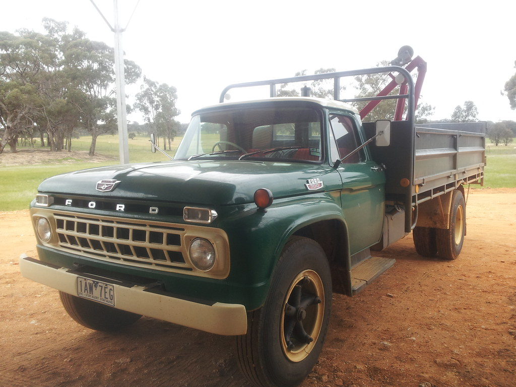 1965 Ford F 700 Truck Recently Restored And Being Used As Flickr 1969 Dump By Five Starr Photos Aussiefordadverts