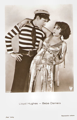 Lloyd Hughes and Bebe Daniels in Love Comes Along (1930)