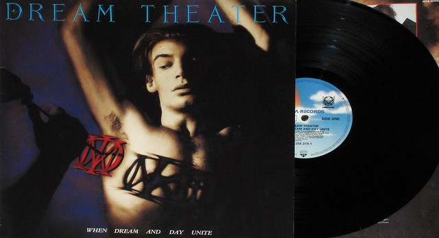 "DREAM THEATER WHEN DREAM AND DAY UNITE W/SLEEVE 12"" LP"