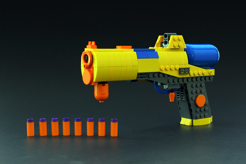 Nerf is a great platform to get creative and build a model of your favorite  video game or other action themed weapons.