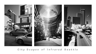 City Scapes of Infrared Seattle (1) | by Diana Michaels