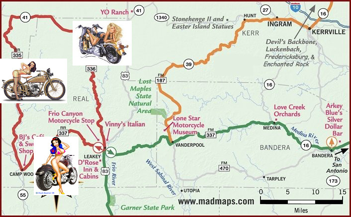 Texas Hill Country Road Map | Texas Hill Country Road Map. T… | Flickr