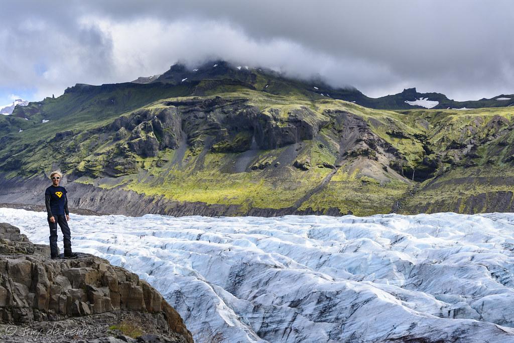 Islandia Svinafellsjokull