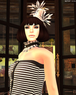 Earning My Stripes (New Post @ Second Life Fashion Addict) | by Jhuzen Ketsugo (Ketsy)