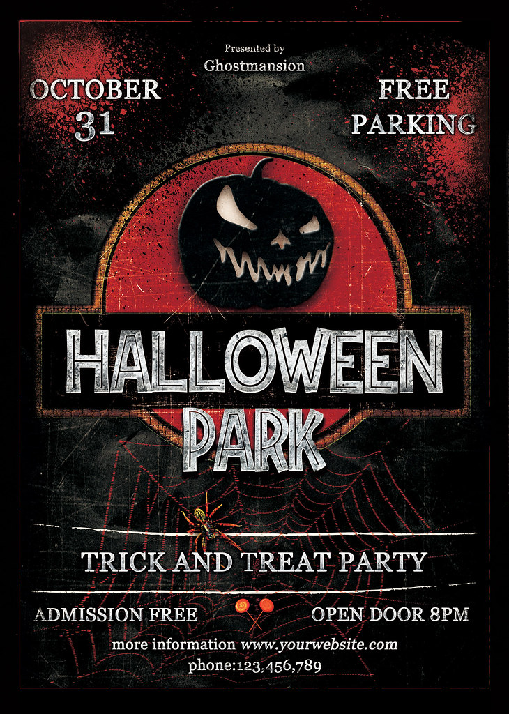 halloween Party Flyer Template V4 | patrick conchon | Flickr