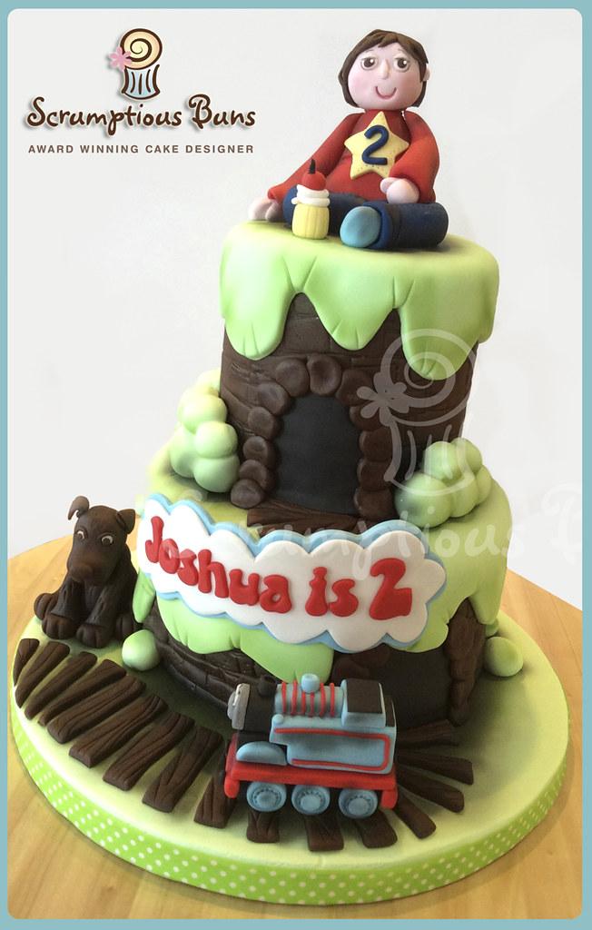 Miraculous Thomas Tank Birthday Cake Samantha Douglass Flickr Funny Birthday Cards Online Elaedamsfinfo