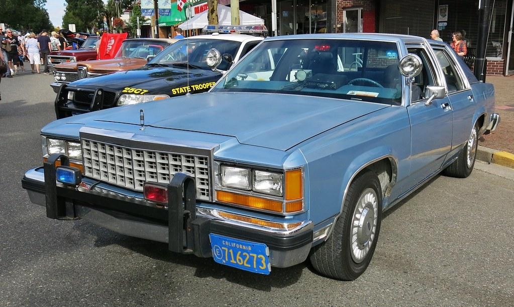 1983 87 Ford Ltd Crown Victoria Unmarked Police Car Flickr