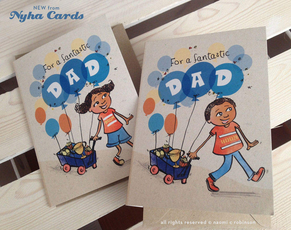 Fathers Day Greeting Card Finished Product Available Via Flickr