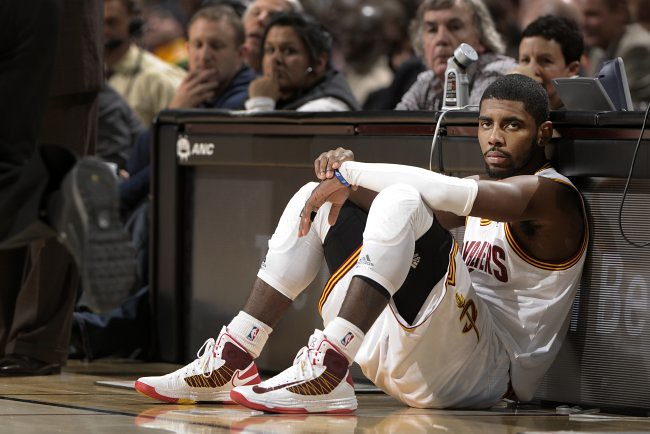 Image result for kyrie crying