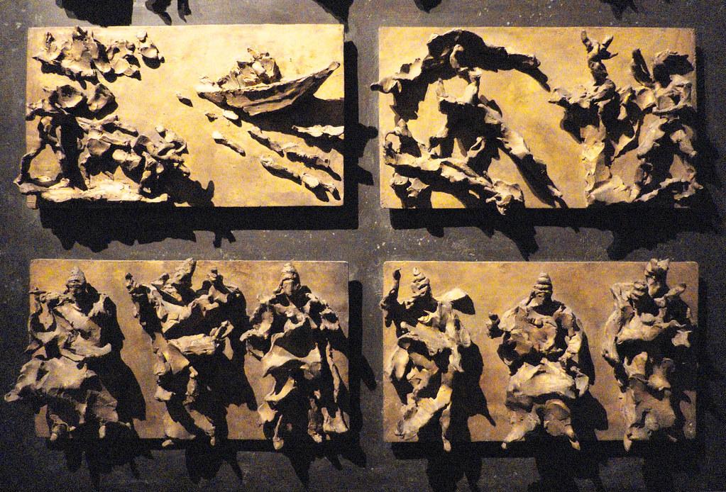Lucio Fontana (1899-1968), Bozetto per la porta del Duomo … | Flickr