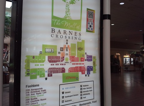 Barnes Crossing directory   The Belk south end anchor ...