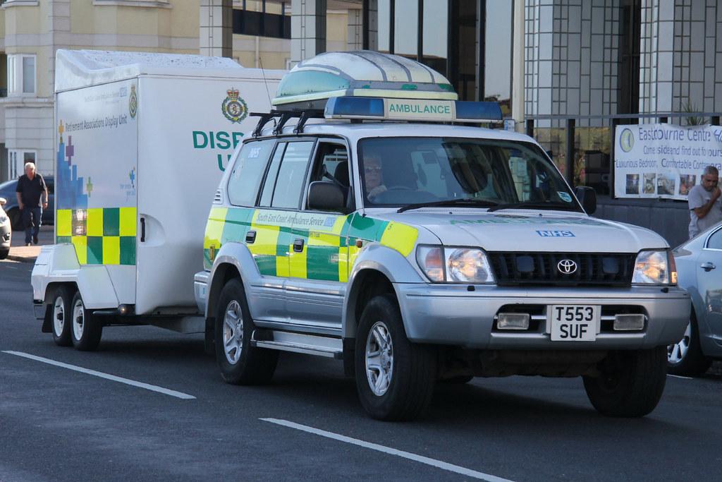 ... South East Coast Ambulance Service Toyota Land Cruiser Support Vehicle  | By PFB 999