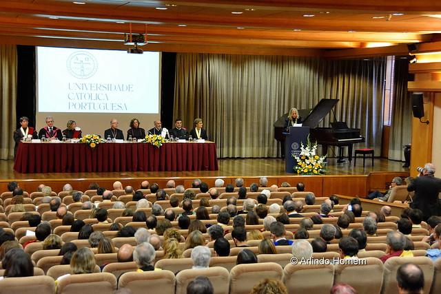 Cerimónia de Investidura da Reitora, Doutora Isabel Maria de Oliveira Capeloa Gil - Universidade Católica Portuguesa 2016