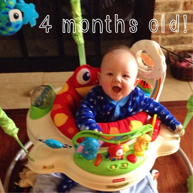 Happy 4 Month Birthday To My Amazing Baby Boy Love Him So Flickr