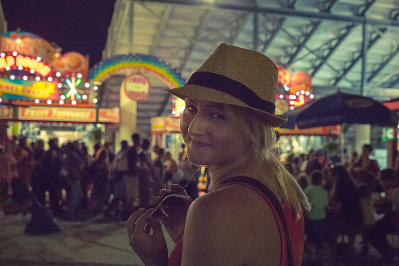 Haley at the Fair