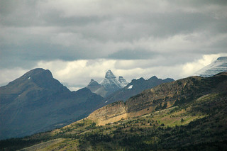 Hailstone-generating storm system over the Livingston Range (3 September 2008) (Oberlin Bend-Garden Wall viewpoint, just northwest of Logan Pass, Glacier National Park, northwestern Montana, USA) | by James St. John