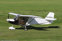 G-CDLK - 2005 build Best-Off Skyranger, taxiing for departure at Barton