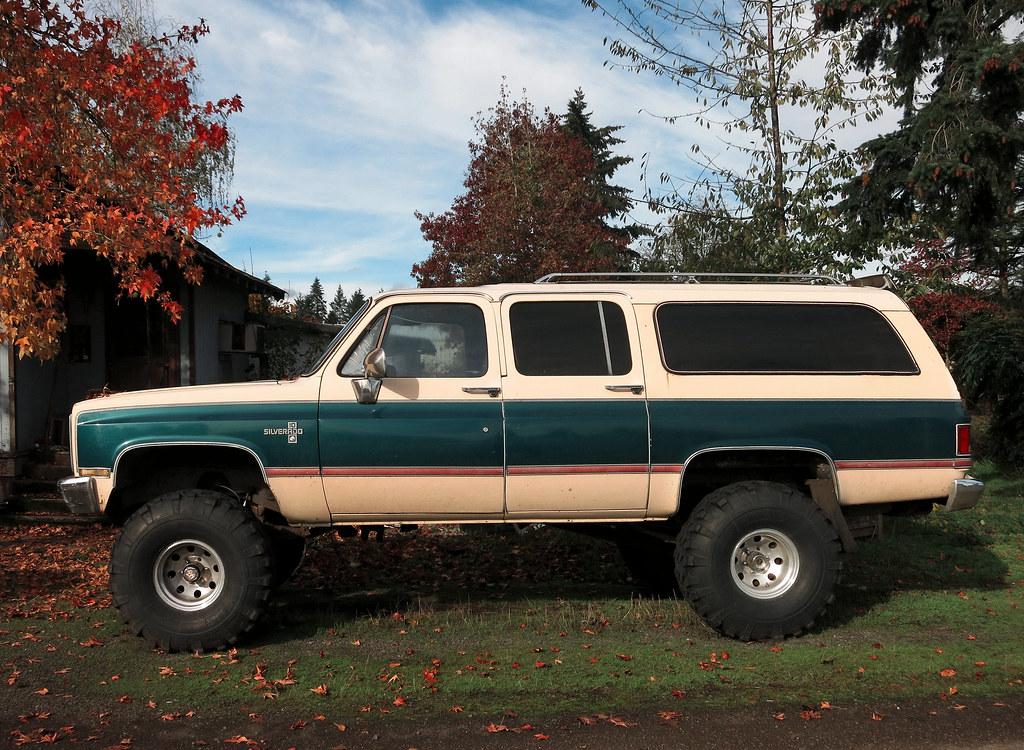 Chevy 4x4 Silverado Suburban (\'73-\'91) | Barlow, Oregon | Old White ...