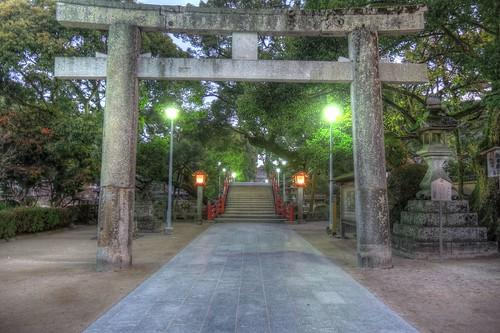Dazaifu Tenmangu Shrine in early morning on NOV 26, 2016 vol02 (1)