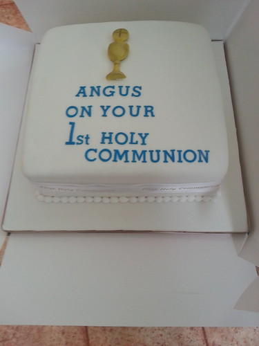 Male Holy Communion Cake | by platypus1974
