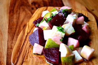 Recipe for Goats Cheese & Beetroot Salad | by FrugalFeeding