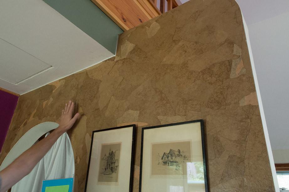 P8090050 Paper Bag Wall Treatment