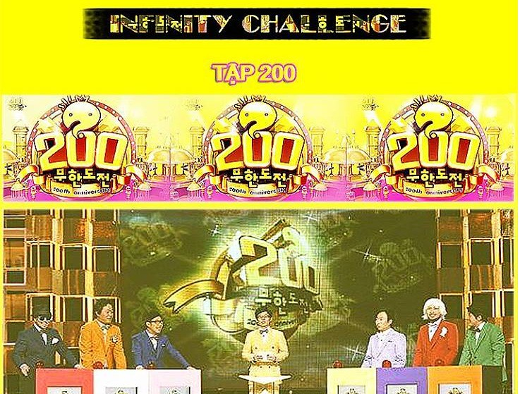[Vietsub] Infinity Challenge Ep 200
