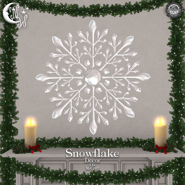 *NW* Snowflake - Decor