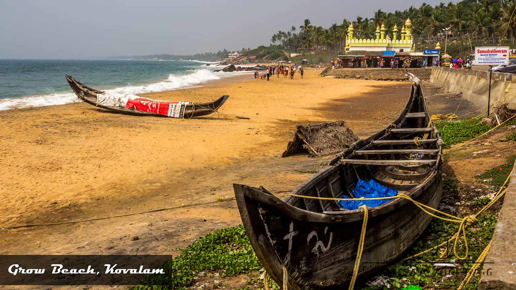 Grow Beach, Kovalam