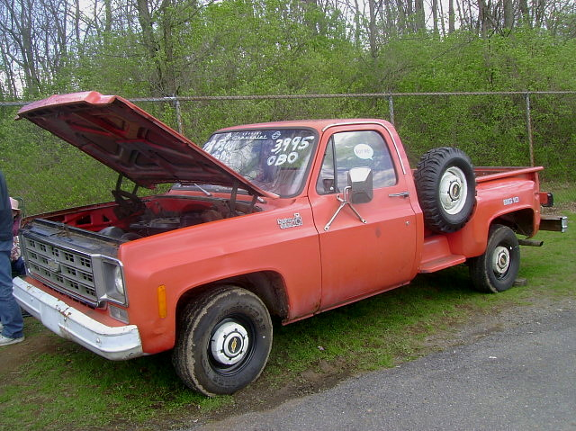 1978 Chevy C 10 Custom Deluxe Big 10 Spring Carlisle Apri Flickr