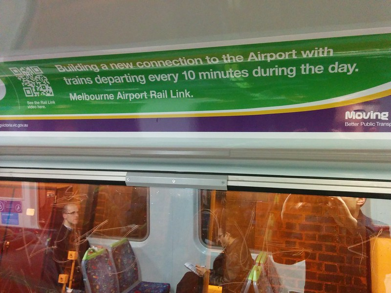 Melbourne Airport Rail Link. Remember this promise. #SpringSt