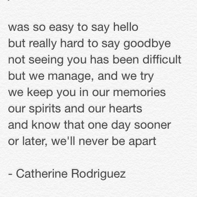 Adios by yours truly goodbye loss family poem poet w Flickr Classy Loss Of A Family Member Poem