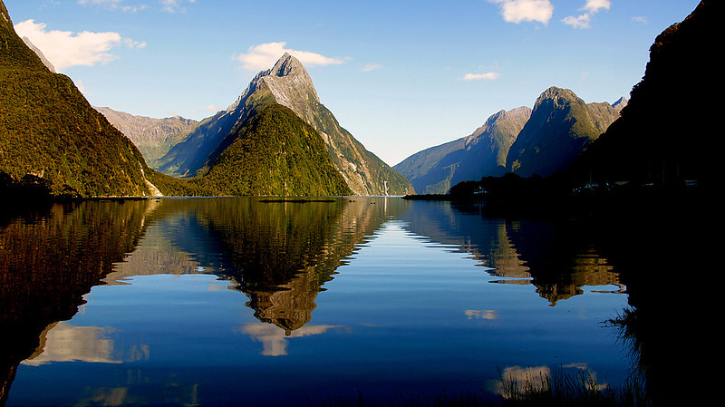 Milford Sound New Zealand.