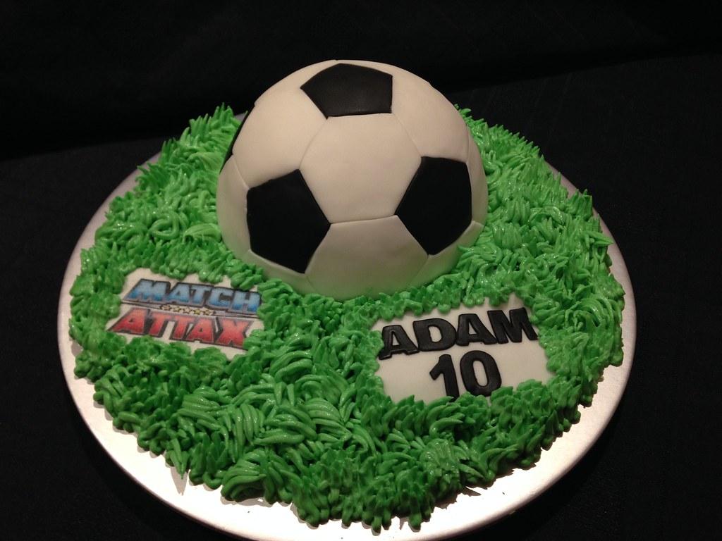Football Birthday Cake Debbie Windsor Flickr