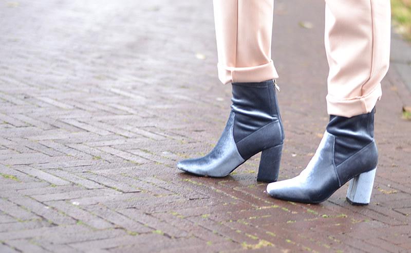 Truffle Velvet Boots