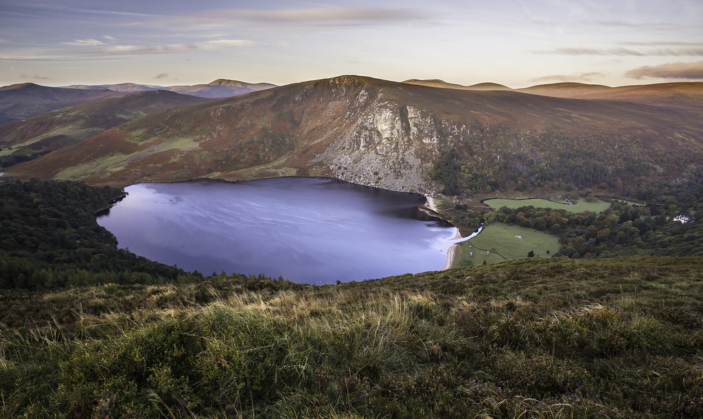 First Light on Luggala mountain