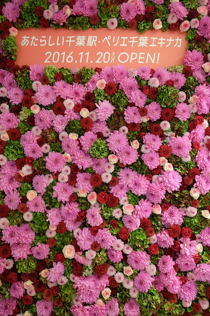 JR Chiba Station refurbishment 2016-17