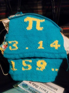Pi Baby Sweater (front and back viewed together) | by Terriko