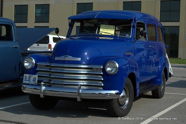 1947 gmc suburbans  panel trucks