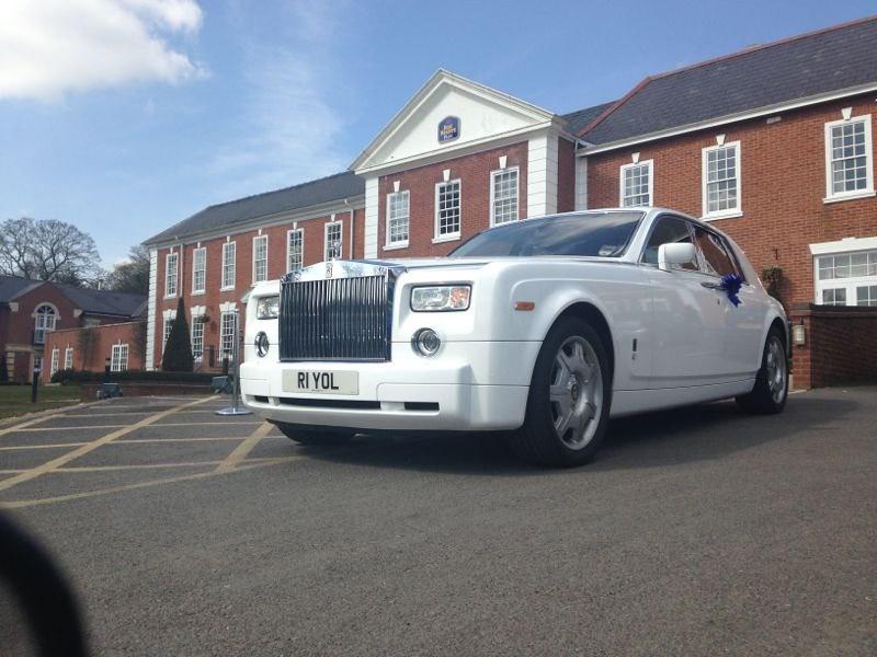 White Rolls Royce Phantom- Royal Limos- Birmingham Wedding…   Flickr