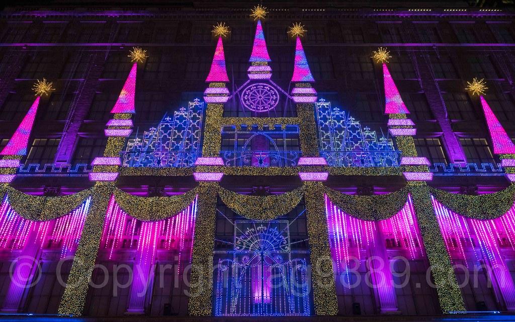 ... Saks Fifth Avenue Holiday Light Show, New York City | by jag9889 - Saks Fifth Avenue Holiday Light Show, New York City Flickr