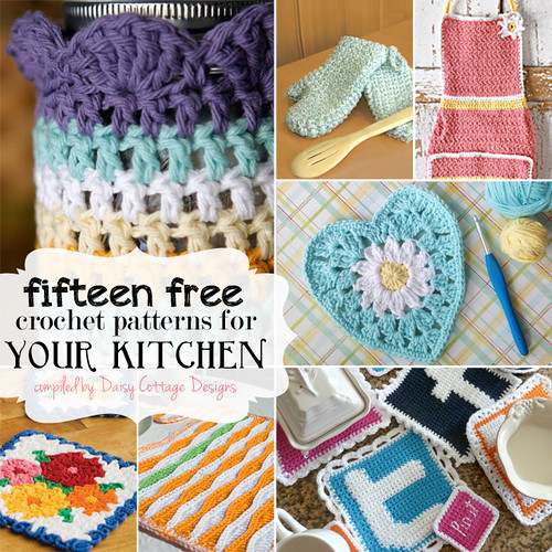 15 Free Kitchen Crochet Patterns Lauren Brown Flickr